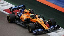 F1, McLaren: svelato il nome della vettura 2021