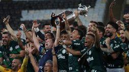 Libertadores: le foto del trionfo del Palmeiras