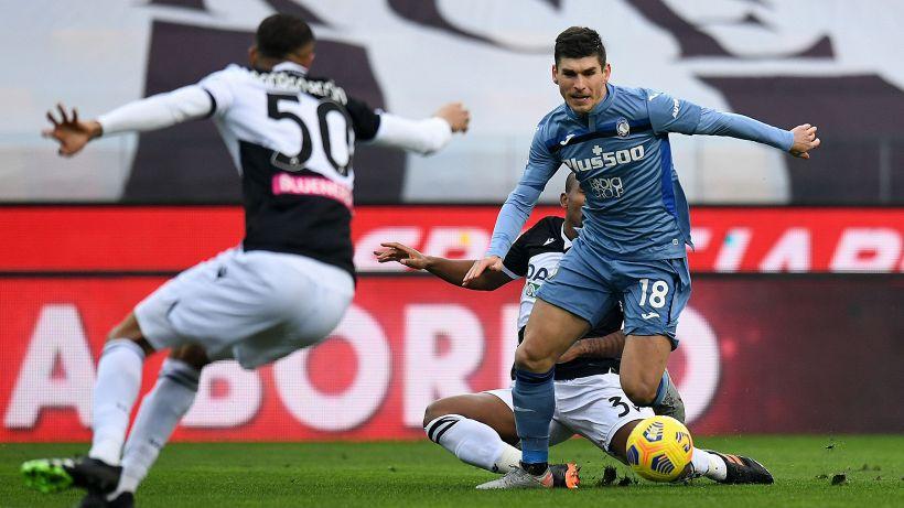 Udinese-Atalanta 1-1: Muriel risponde a Pereyra