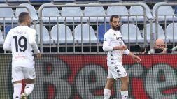 Il Cagliari sprofonda: colpaccio Benevento