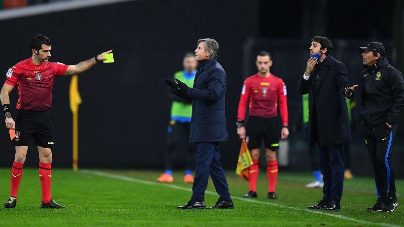 Inter, scontro Antonio Conte-Fabio Maresca: pagherà anche l'arbitro