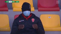 Lecce-Monza, infortunio muscolare nel riscaldamento per Balotelli