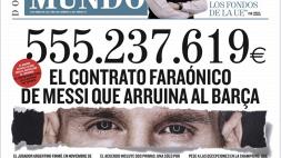 El Mundo svela le cifre del contratto di Messi: 555 milioni dal Barcellona in 4 anni