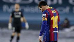 Follia Messi, pugno all'avversario e espulsione: due giornate