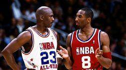 Michael Jordan rivela gli ultimi messaggi con Kobe Bryant
