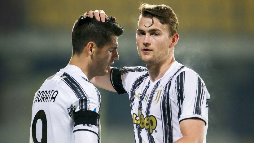 La Juventus ritrova De Ligt: è guarito