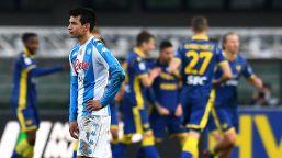 Buio Napoli: Gattuso crolla a Verona. Il Genoa inguaia il Cagliari
