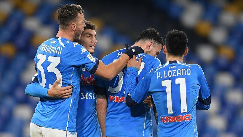 Coppa Italia, Napoli avanti: vittoria pirotecnica contro l'Empoli