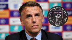 Phil Neville è il nuovo allenatore dell'Inter Miami: ora è ufficiale