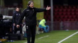 Benevento: Inzaghi elogia il club per il mercato invernale