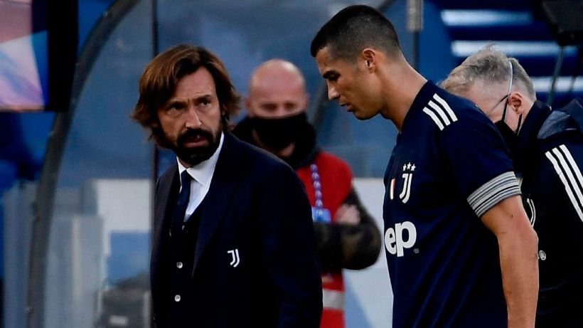 Juventus, Andrea Pirlo gela i tifosi su Cristiano Ronaldo