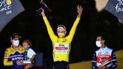 Ciclismo, Tadej Pogacar correrà il Tour de France 2021 per difendere il titolo