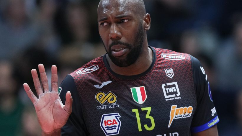Volley, con un super Simon la Lube pareggia i conti con Trento