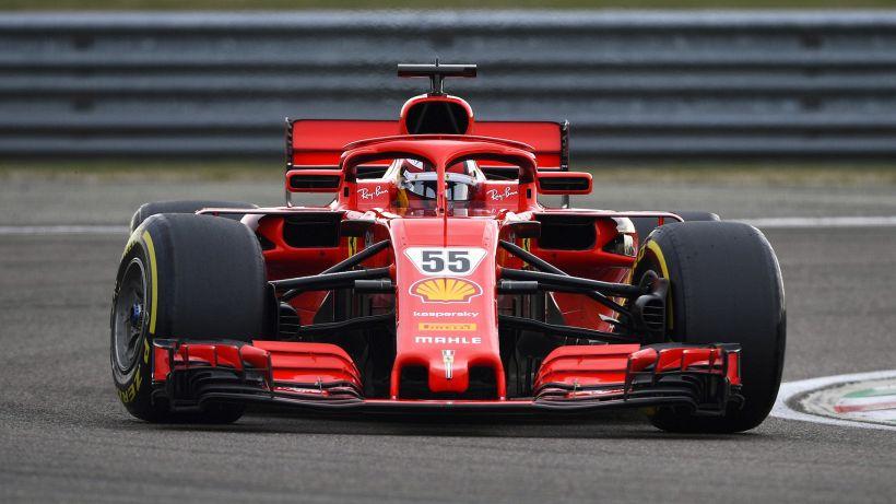 Ferrari, primi giri per Carlos Sainz sulla Rossa a Fiorano