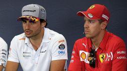 F1, Sebastian Vettel amaro sulla decisione della Ferrari
