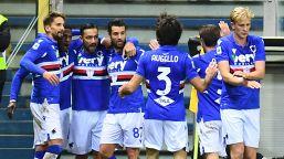 La Samp di Ranieri vola, Parma sempre più nei guai