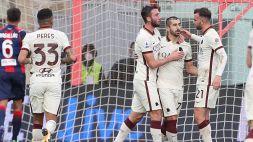 Serie A: Crotone-Roma 1-3, le foto