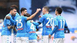 Serie A: Napoli-fiorentina 6-0, le foto