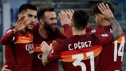 Serie A: Roma-Spezia 4-3, le foto