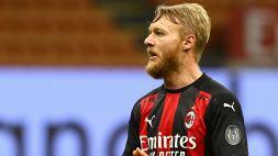 Benevento-Milan, le formazioni ufficiali: riecco Kjaer