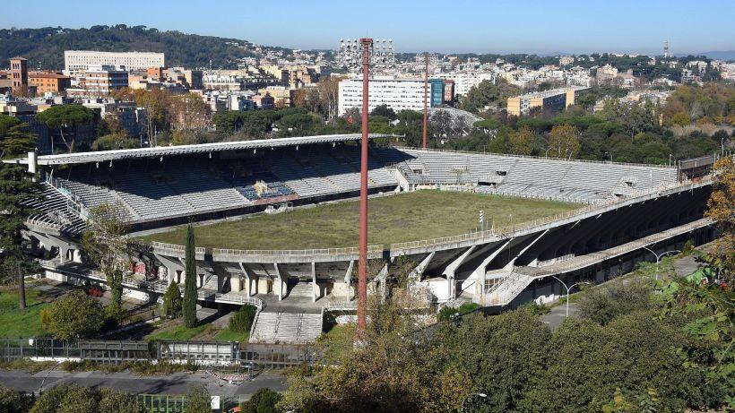 Stadio Flaminio, l'As Roma nuoto presenta un progetto