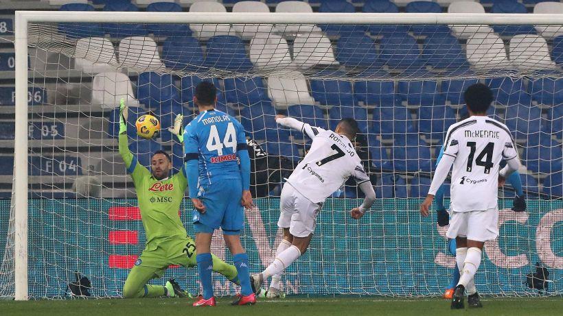 Juventus, la gioia dei giocatori sui social