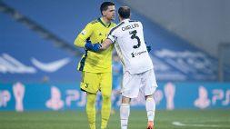 Juventus, Wojciech Szczesny esalta la vittoria della squadra in Supercoppa
