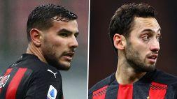 Milan, Calhanoglu e Theo Hernandez positivi al Covid-19