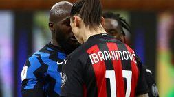 Coppa Italia, Ibrahimovic e Lukaku fermati per un turno