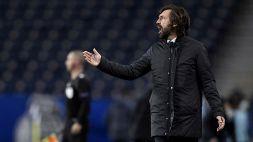 Porto-Juventus, Pirlo spiega la sconfitta e svela un retroscena
