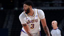 NBA: Lakers vincenti nel segno di Davis