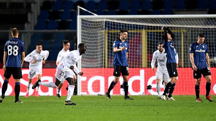 Champions League, Mendy beffa la Dea all'86°: il Real si impone 1-0