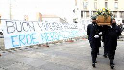 I funerali di Mauro Bellugi: l'omaggio dell'Inter