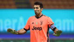 Bestemmia in Parma-Juve: per Buffon multa di 5mila euro
