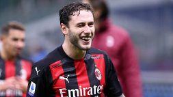 Il Milan pensa già al derby con l'Inter: la gaffe di Davide Calabria
