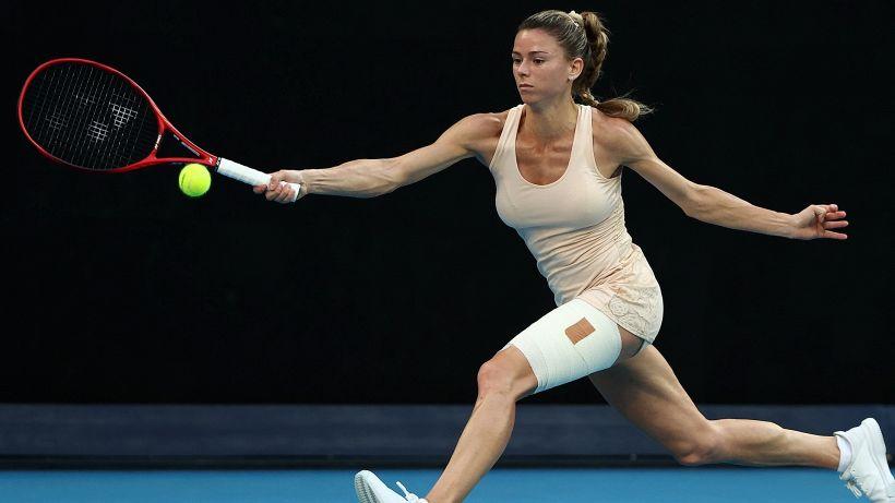 Camila Giorgi eliminata dagli Australian Open