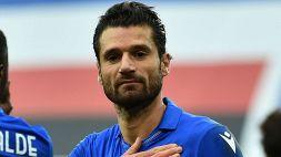 La Sampdoria pareggia: Candreva riscattato dall'Inter