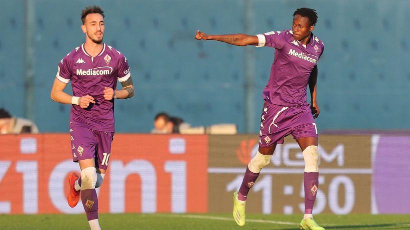 Fiorentina-Spezia, le formazioni ufficiali: Kouamé titolare, fuori Castrovilli
