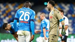 Coppa Italia: Napoli-Atalanta 0-0, le foto
