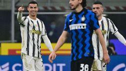 Inter-Juventus 1-2: Ronaldo rimonta Lautaro, le pagelle