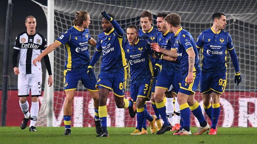 Benevento-Verona, le formazioni ufficiali