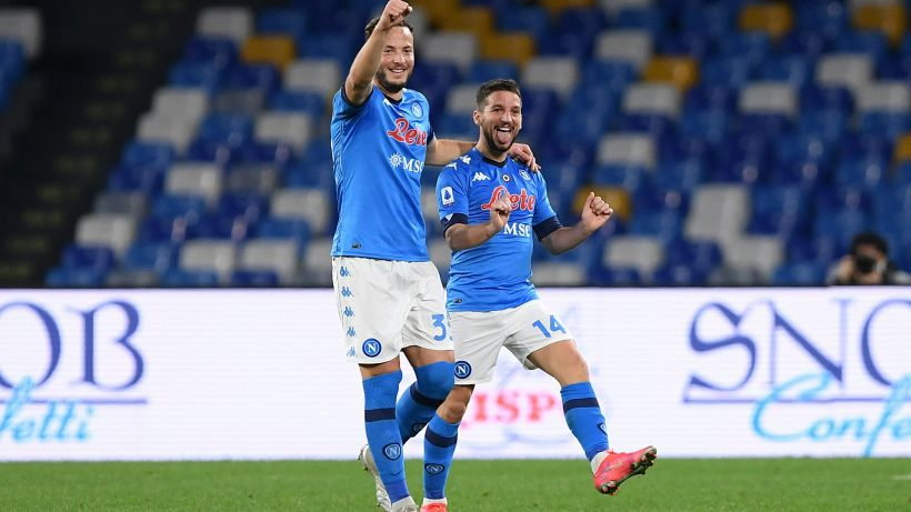 Serie A, Mertens torna e fa sorridere il Napoli