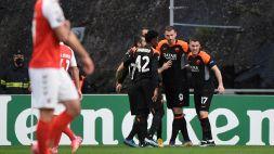 Braga-Roma 0-2: ci pensano Dzeko e Borja Mayoral, le pagelle