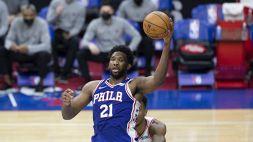 NBA. Philadelphia batte Brooklyn ed è prima ad Est