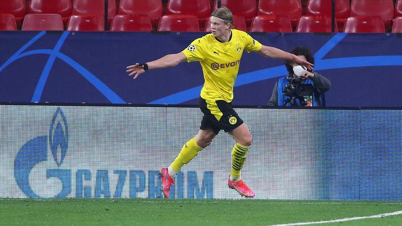 Suso illude, poi è super Haaland: il Borussia Dortmund espugna Siviglia, le pagelle