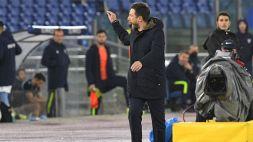 Lazio-Cagliari, il nervosismo di Eusebio Di Francesco