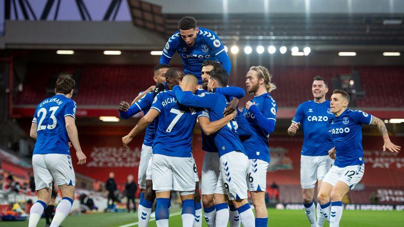 Il derby del Merseyside è dell'Everton: Ancelotti batte Klopp 2-0