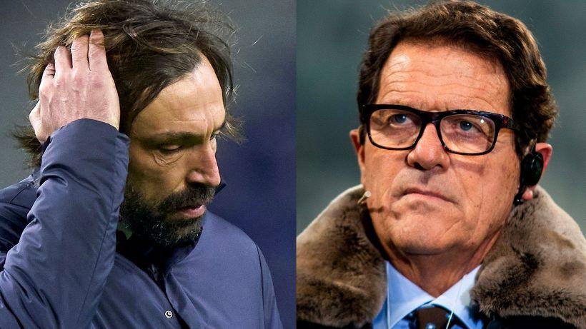 Juventus, pioggia di critiche ad Andrea Pirlo: Capello e Del Piero duri