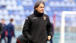 Benevento, la preoccupazione di Pippo Inzaghi