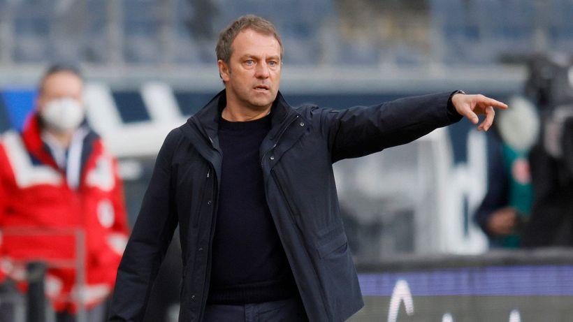 """Bayern, Flick: """"Ho visto cose buone anche nel ko a Francoforte"""""""